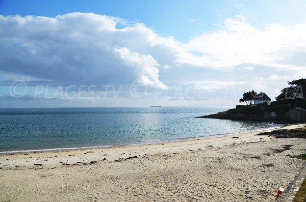 Photo of Port Navalo beach towards Arzon lighthouse