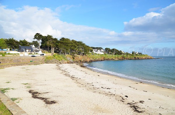 Port Navalo beach on the Rhuys peninsula in Arzon
