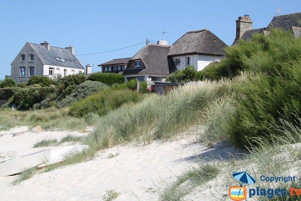 Environnement de la plage du Port de Plouescat
