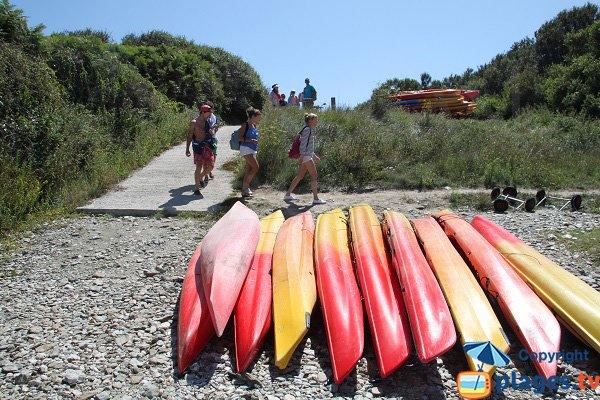 Kayak à Belle Ile en Mer