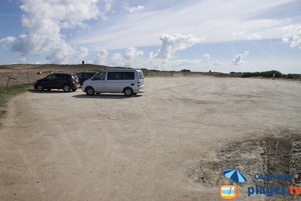 Parking de la crique de Port Rhu à St Pierre Quiberon