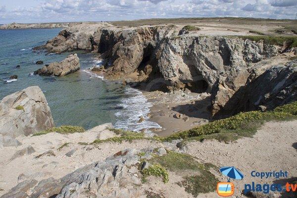 Plage de port rhu saint pierre quiberon 56 morbihan - Camping port blanc saint pierre quiberon ...