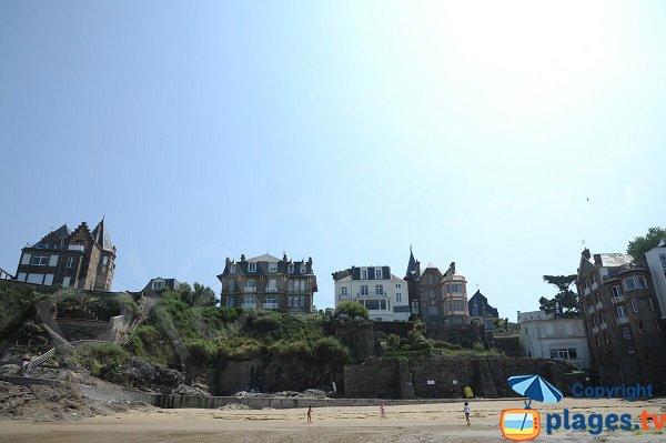 Environment of the beach of Port Riou - Dinard