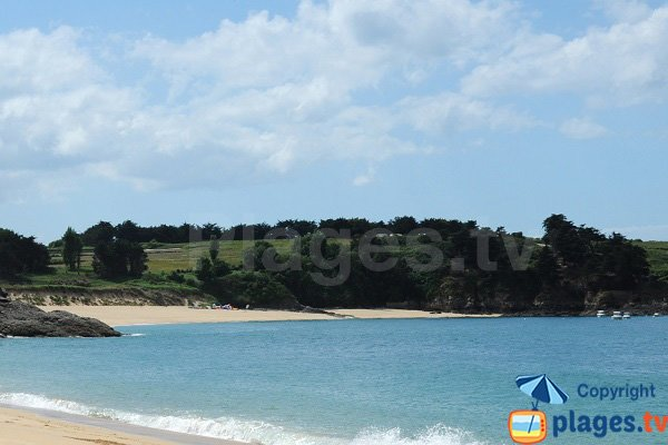 Photo of the Port beach in Saint Coulomb - France