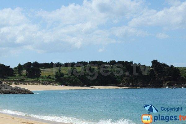 Photo de la plage du Port de Saint Coulomb