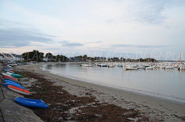 Photo de la plage du Port de Saint Jacques à Sarzeau