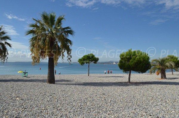 Spiaggia del Porto diSaint Laurent du Var in Francia