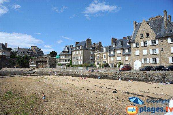Photo de la plage de St Père à Saint Malo
