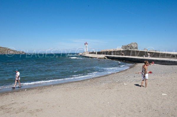 Spiaggia Espeluga a Port Vendres