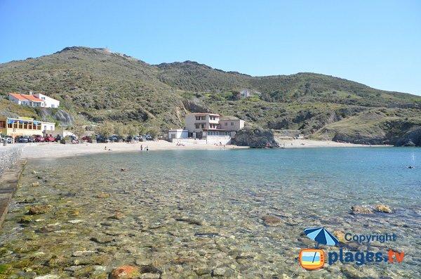 Spiaggia a Port-Vendres