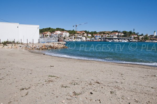 Spiaggia Tamarins a Port Vendres in Francia