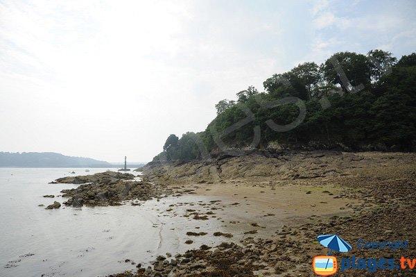 Photo de la plage du Port du Vicomte