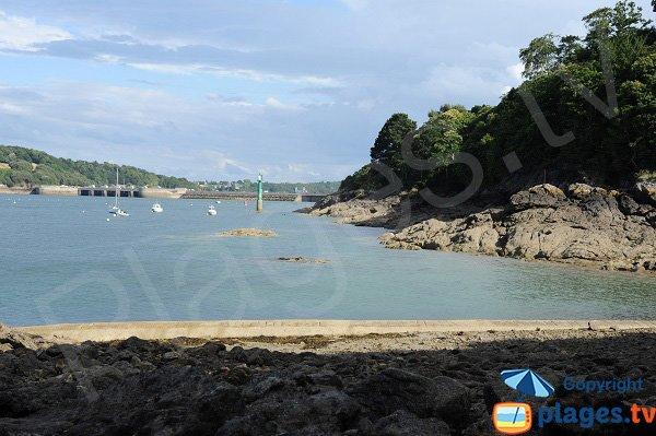 Barrage de la Rance depuis le port du Vicomte - Dinard