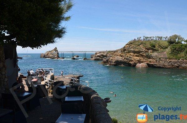 Restaurant sur la plage de Port-Vieux - Biarritz