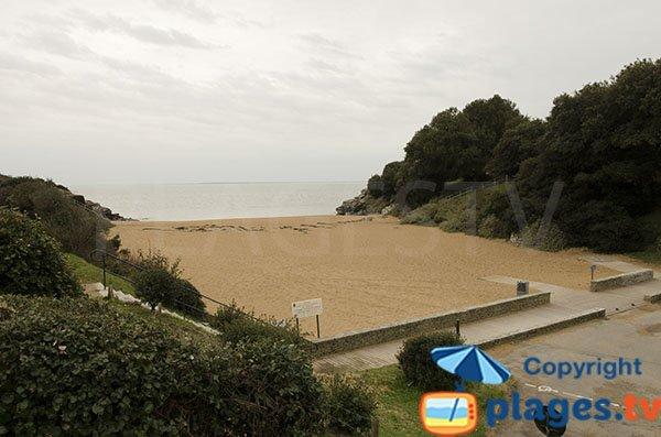 Photo de la plage du Porteau à Pornic