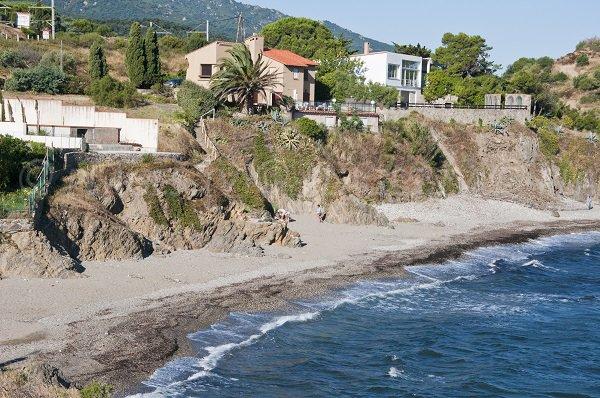 Cala tra Argelès e Collioure