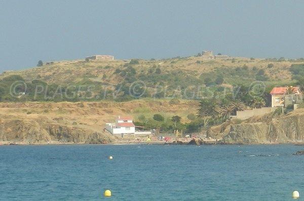Foto della cala di Porteil - Argeles