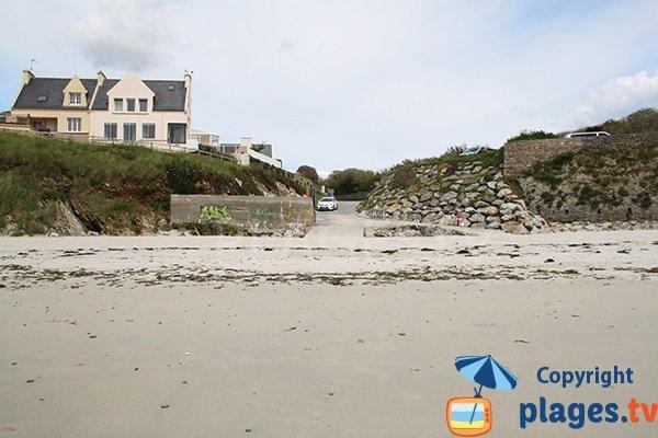 Accès à la plage de Portez - Le Conquet