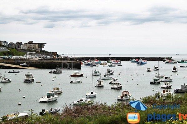 Plage de portez le conquet 29 finist re bretagne - Hotel relais du vieux port le conquet ...
