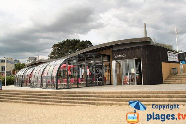 Restaurant à proximité de la plage de Portez à Locmaria-Plouzané - Finistère