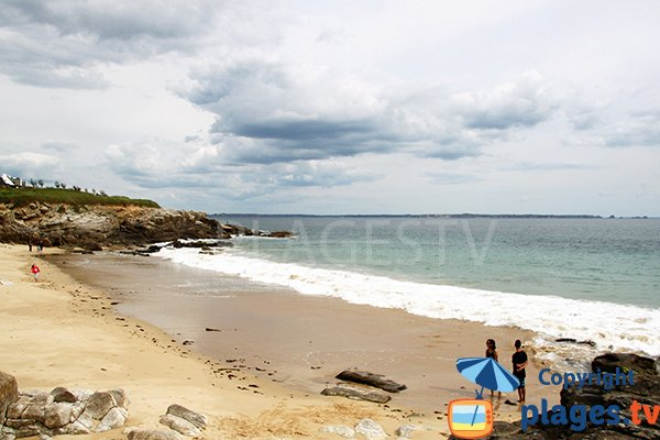 Photo de la plage de Portez à Locmaria-Plouzané - Bretagne
