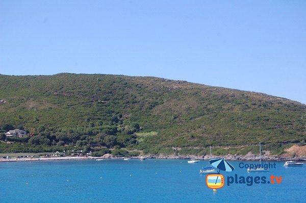 Plage de sable à Cagnono - Cap Corse - Porticciolo