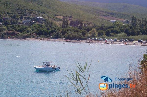 Photo de la plage de Porticciolo dans le Cap Corse