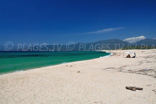 Photo de la plage de Portigliolo en Corse