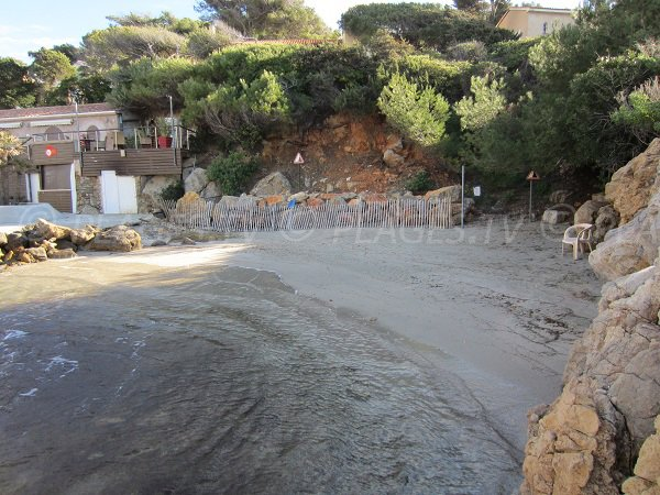 Plage dans le Var à Sanary sur Mer