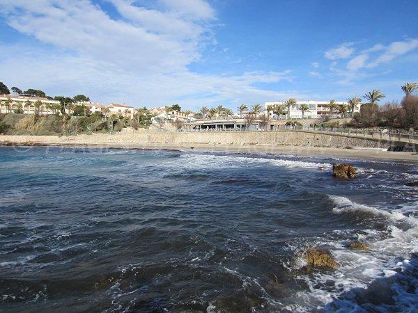 Portissol beach in Sanay - Southern France