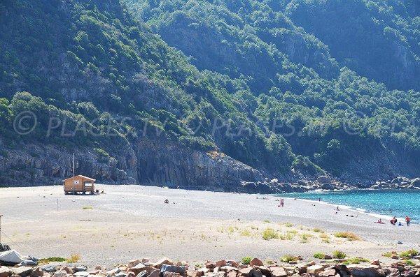 Spiaggia di Porto in Corsica