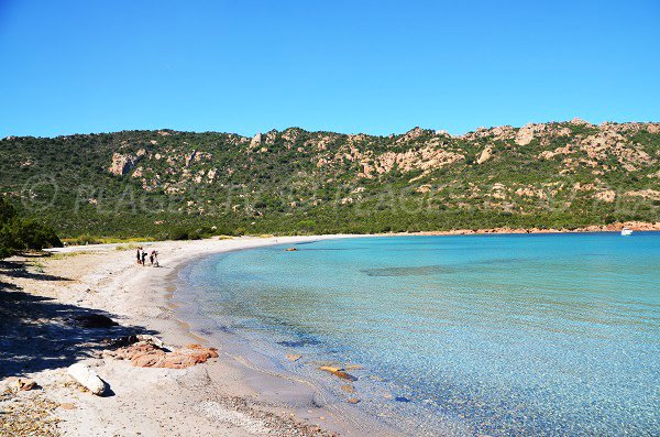 Spiaggia di Porto Novo in Corsica