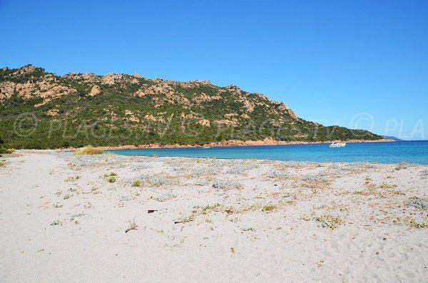 Secret beach in South Corsica