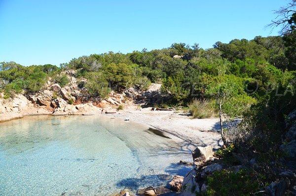 Porto Novo creek in Corsica