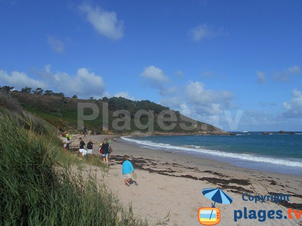 Photo of Portouais beach in Erquy in France