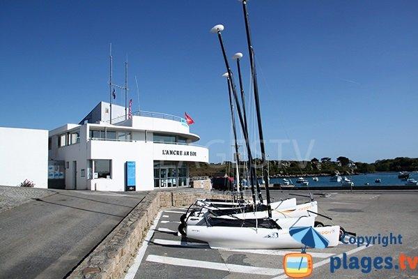 Centre nautique de Portsall