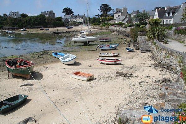 Batz island beach - Porz an Eog