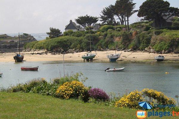 Plage de Porz an Eog sur l'ile de Batz - Bretagne