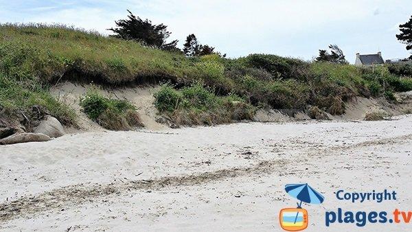 Dune de la plage de Porz ar Marc'h