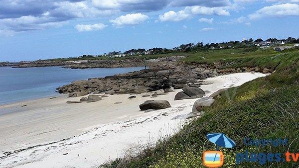 Photo de la plage de Porz ar Marc'h à Lampaul-Plouarzel