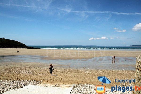 Photo de la plage de plage de Porz ar Vag à Plomodiern
