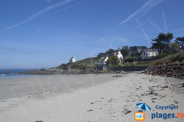 Photo de la plage de Porz ar Villiec à Locquirec