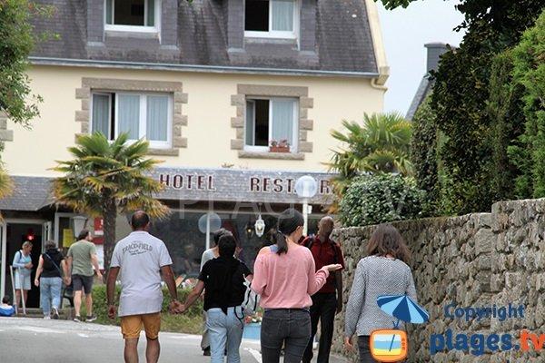 Restaurant et hotel proche de la plage de Porz Beg Meil - Fouesnant