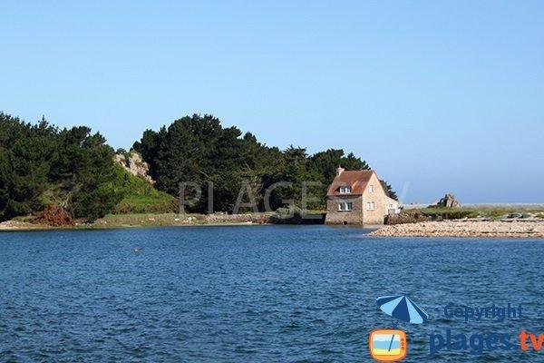 Moulin à marée de l'île Ozac'h - Bretagne