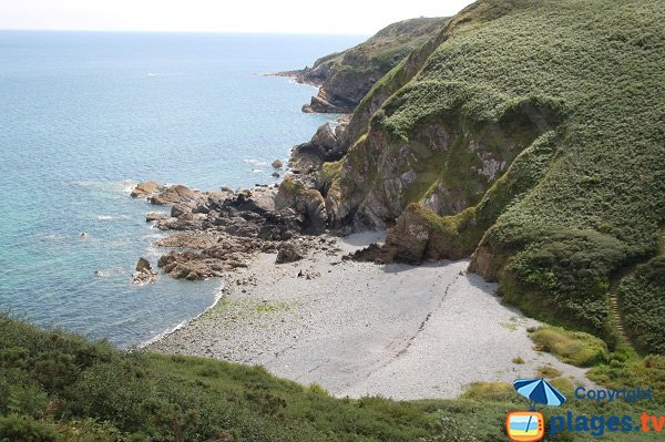 Photo de la plage de Porz Donant