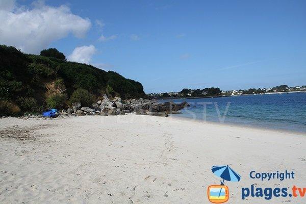plage de Porz Doun à Plouguerneau