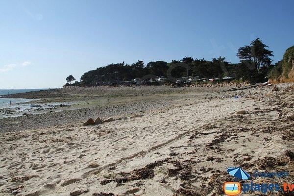 Photo de la plage de Porz Garo à Trélévern