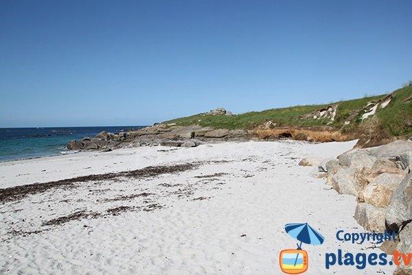 Photo de la plage de Porz Gwen à Ploudalmézeau - Bretagne
