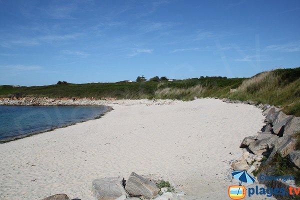 Photo de la plage de Porz Gwenn - Pleumeur-Bodou