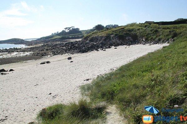 Plage de Porz Adelig à côté de la plage de Porz an Illiz